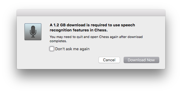 For 1.2 GB it seems like I should get something more than just speech recognition.